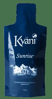 kyani sunrise packet